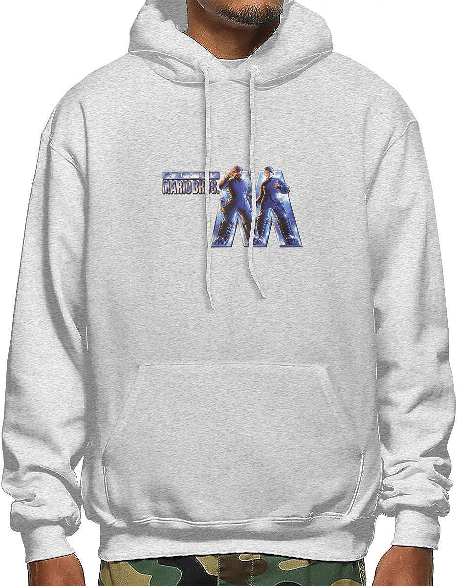 Mario Bros Movie Banner Mens Fashion Hooded Sweater Popular Style Design