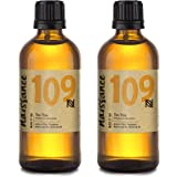 Naissance Tea Tree Essential Oil (#109) 200ml (2 x 100ml) - Pure, Natural, Cruelty Free, Vegan & Undiluted
