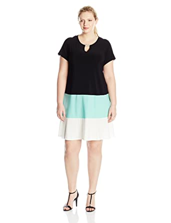 e012ba74c2fe4 Annalee + Hope Women s Plus Size Drape Neck Tunic Top at Amazon ...