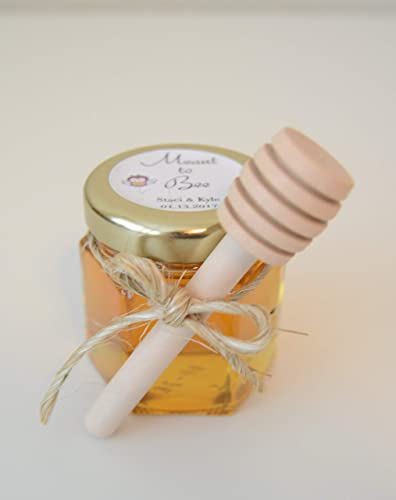 Amazon Com 12 Set Personalized Honey Favors Mommy To Bee Mini