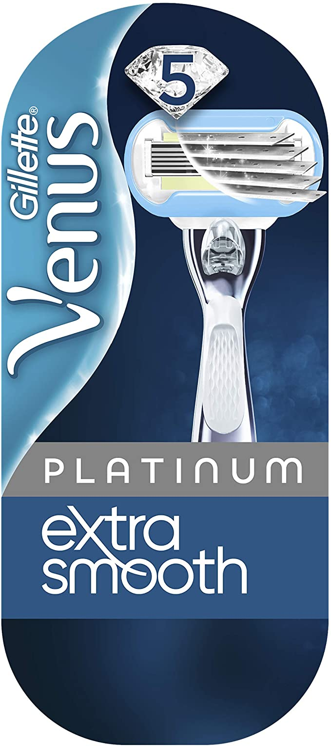 Gillette Venus Platinum Extra Smooth - Afeitadora para mujer: Amazon.es: Salud y cuidado personal