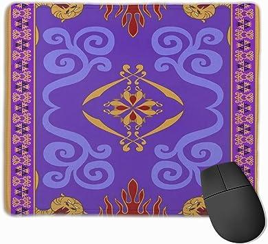 Aladdins Magic Carpet Alfombrilla de ratón Alfombrilla antideslizante de goma para ordenador PC teclado y escritorio de 9.8 pulgadas x 11.9 pulgadas