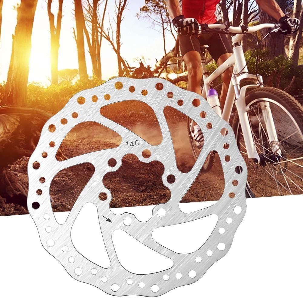 Bicicleta de monta/ña Disco de Freno de Acero Inoxidable Parte de frenado de Pastillas de Freno de Bicicleta 120mm OKBY Disco de Freno de Acero