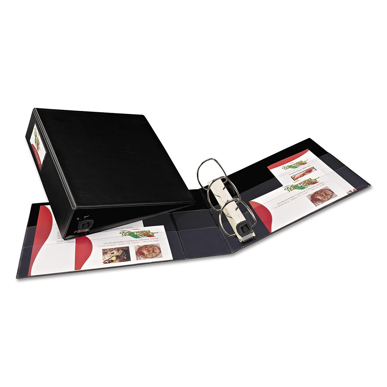 Avery 79993 - 7,62 Carpeta de cartón (Negro, 670 hojas, 7,62 - cm) 94127f