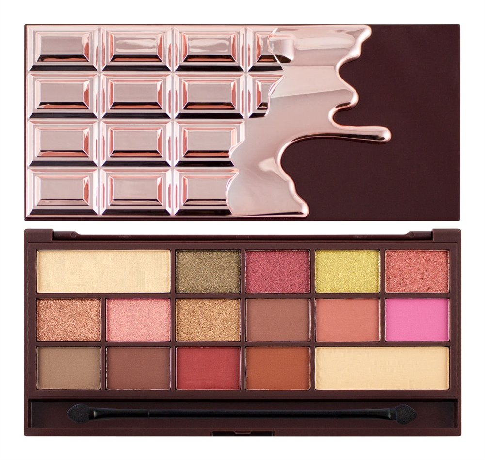 I Heart Revolution Eyeshadow Palette I Heart Chocolate Rose Gold I Heart Makeup 5057566008617