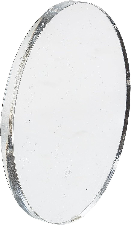 3 St/ück EH Design Acryl Zuschnitt//Plexiglas Platte transparent rund Acrylglas 2 mm dick 100 mm Durchmesser XT Plexi Glas