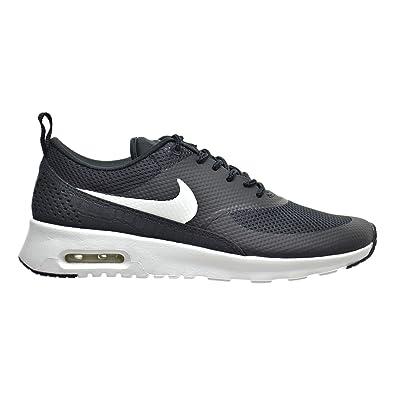 new concept 6394b c2d83 Nike Air Max Thea Womens Shoes BlackSummit White 599409-020 (11 B