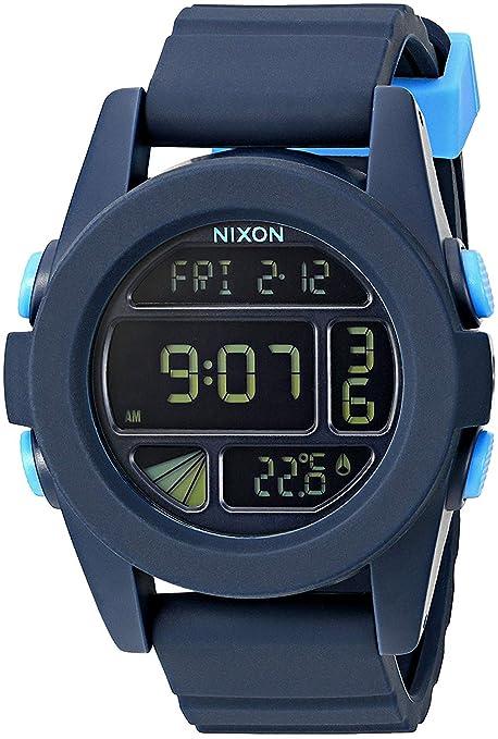 Nixon Reloj Unisex Adultos de Digital con Correa en Caucho A1972224