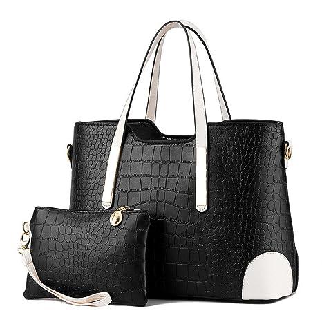 18ed9d27dab WEYIIRG Women Bag Vintage Messenger Bags Shoulder Handbag Women Top-Handle Crocodile  Pattern Composite Bag