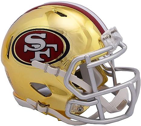 8b9d75b3 Amazon.com : Sports Memorabilia Riddell San Francisco 49ers Chrome ...