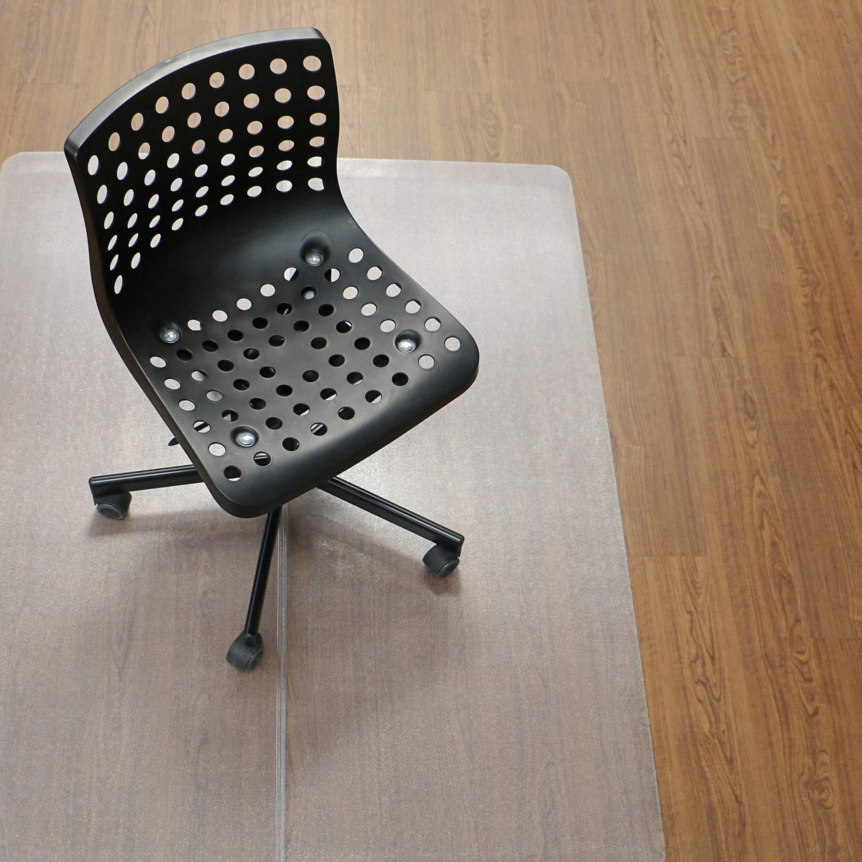 Amazon.com: Inknu - Alfombrilla para silla de madera dura ...