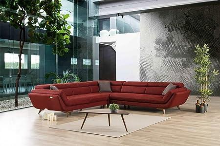 Sofá Dreams Moderna Relax Couch Lübeck L Forma con función ...