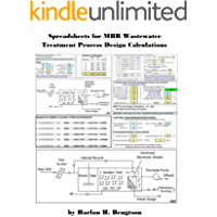 Spreadsheets for MBR Wastewater Treatment Process Design Calculations