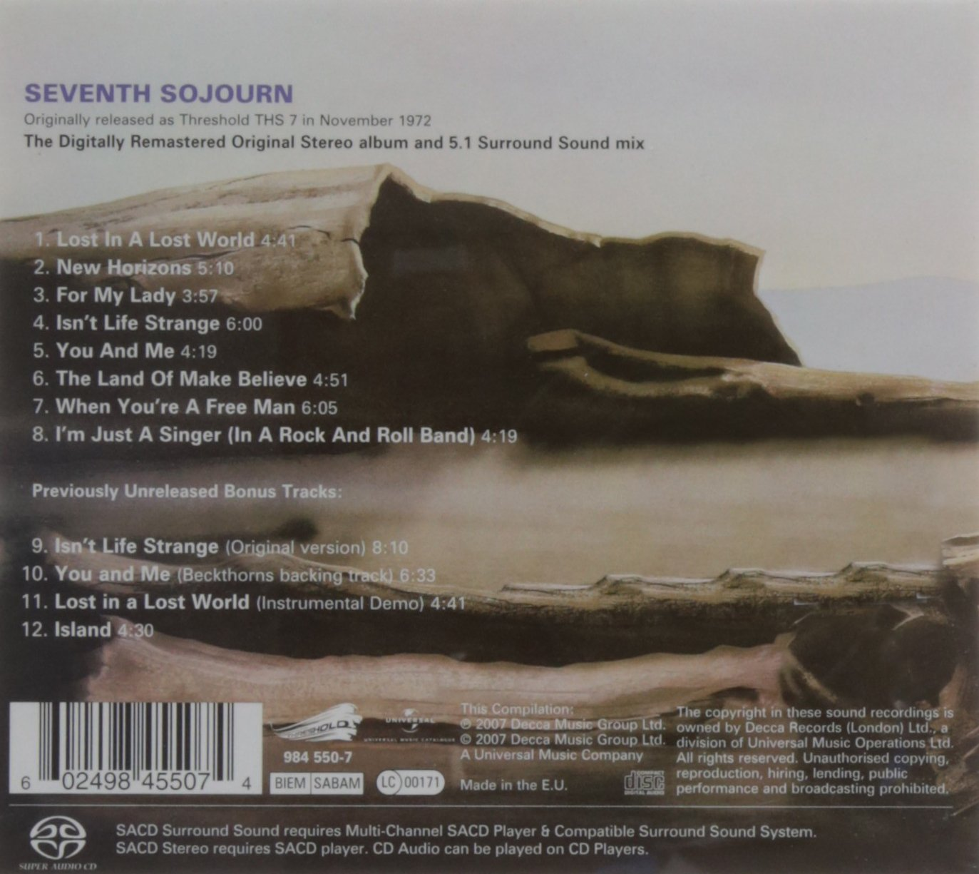Seventh Sojourn by Universal Int'l