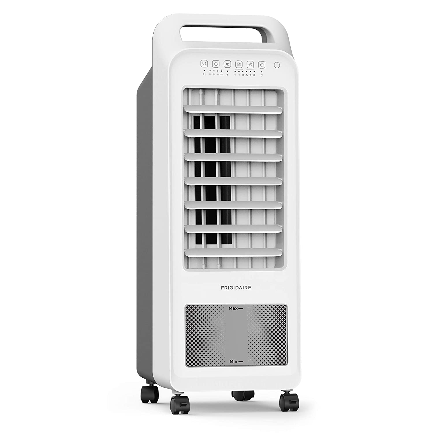 FRIGIDAIRE Fan Cooler and Humidifier with 1.5 Gallon Tank, Remote Included, 2-in-1 Compact Design, EC100WF, 100 sq ft