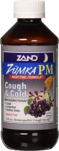 Zand Zumka Pm Syrup Elderberry Herbal Supplement