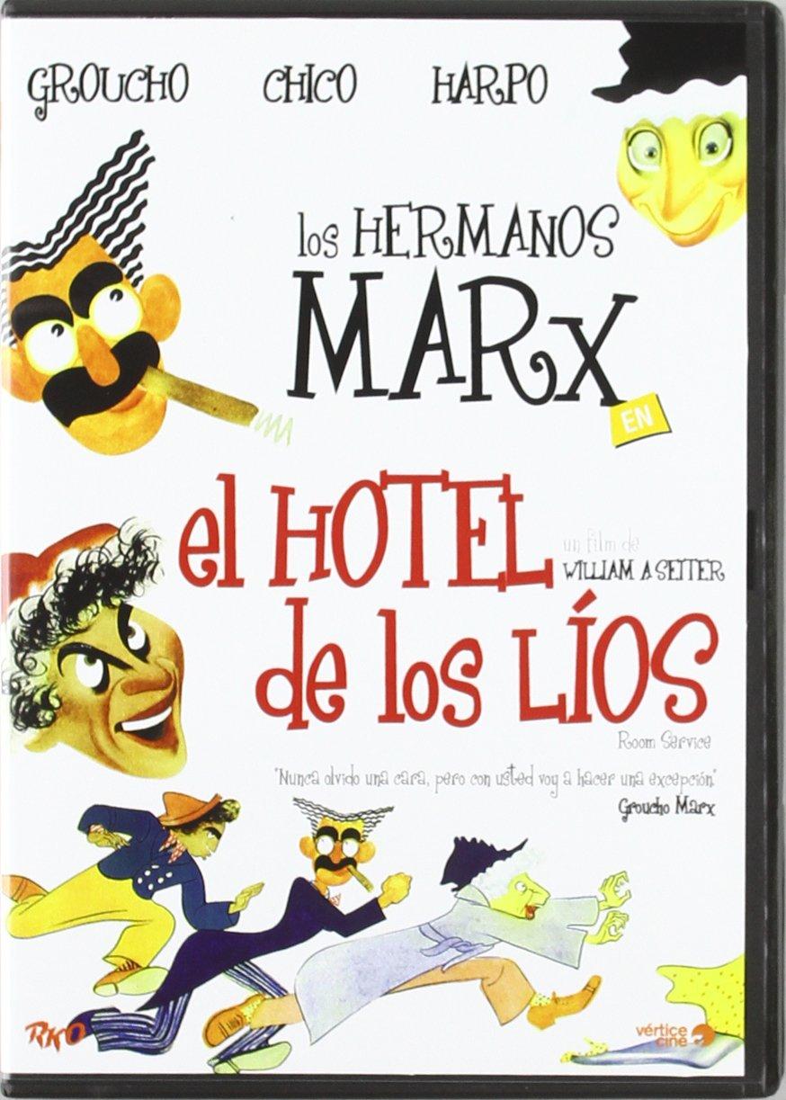 El Hotel De Los Lios [DVD]: Amazon.es: Groucho Marx, Harpo Marx ...
