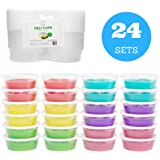 3d1c21870c56 Amazon.com: BWS 8 oz Ultra Clear Recycled PET Plastic Round Craft ...