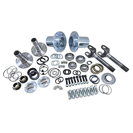 Yukon (YA WU-04) Spin Free Locking Hub Conversion Kit for Dodge SRW Dana 60  AAM Differential