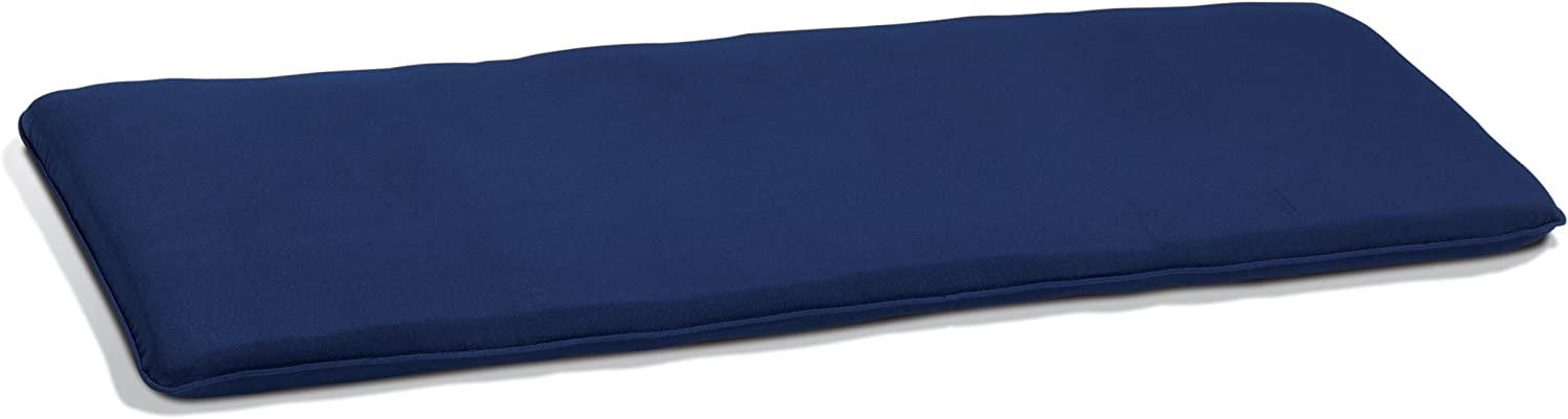 Oxford Garden 5-Foot Backless Bench Cushion Made from 100 Sunbrella Durable and Suitable as Outdoor Cushion Navy Blue