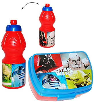 Set: Lunchbox / Brotdose U0026 Trinkflasche   U0026quot; Star Wars U0026quot