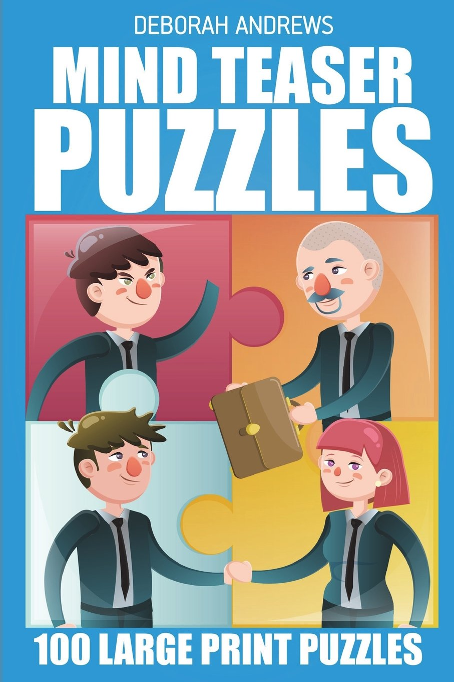 Read Online Mind Teaser Puzzles: No Four In a Row Puzzle - 100 Large Print Puzzles (Brain Games For Adults) PDF