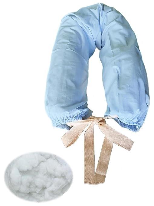 morbidoso - Azzurro- cojín para lactancia bebé y apoyo ...