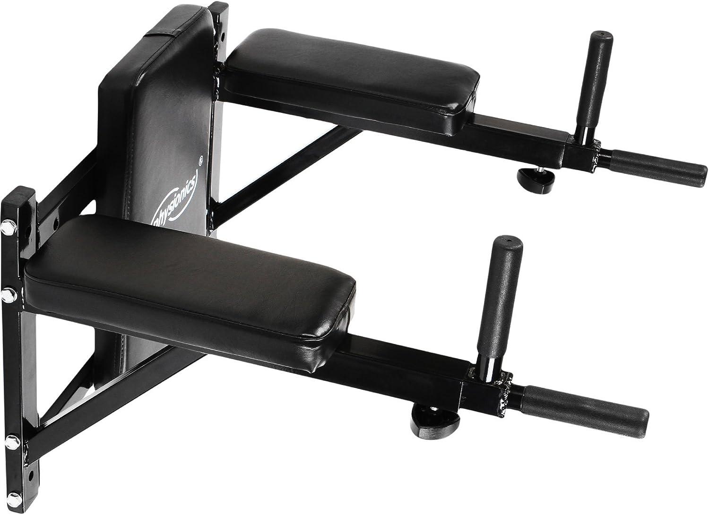 Estación de Entrenamiento - para Músculos Abdominales y Espalda, Carga Máx. 100 kg - Barra de Dominadas, Equipo de Fitness y Ejercicio