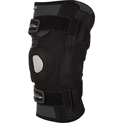 16a30c48c1 Amazon.com: Shock Doctor RE+ Ultra Knee Support w/ Bilateral Hinges ...