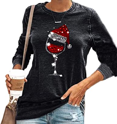 Raccoon with Santa hat shirt Funny Christmas Shirt Women/'s Christmas Shirt