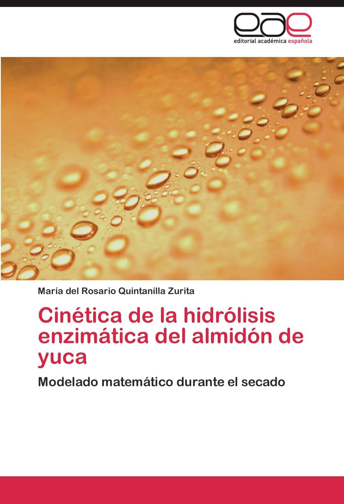 Cinética de la hidrólisis enzimática del almidón de yuca ...