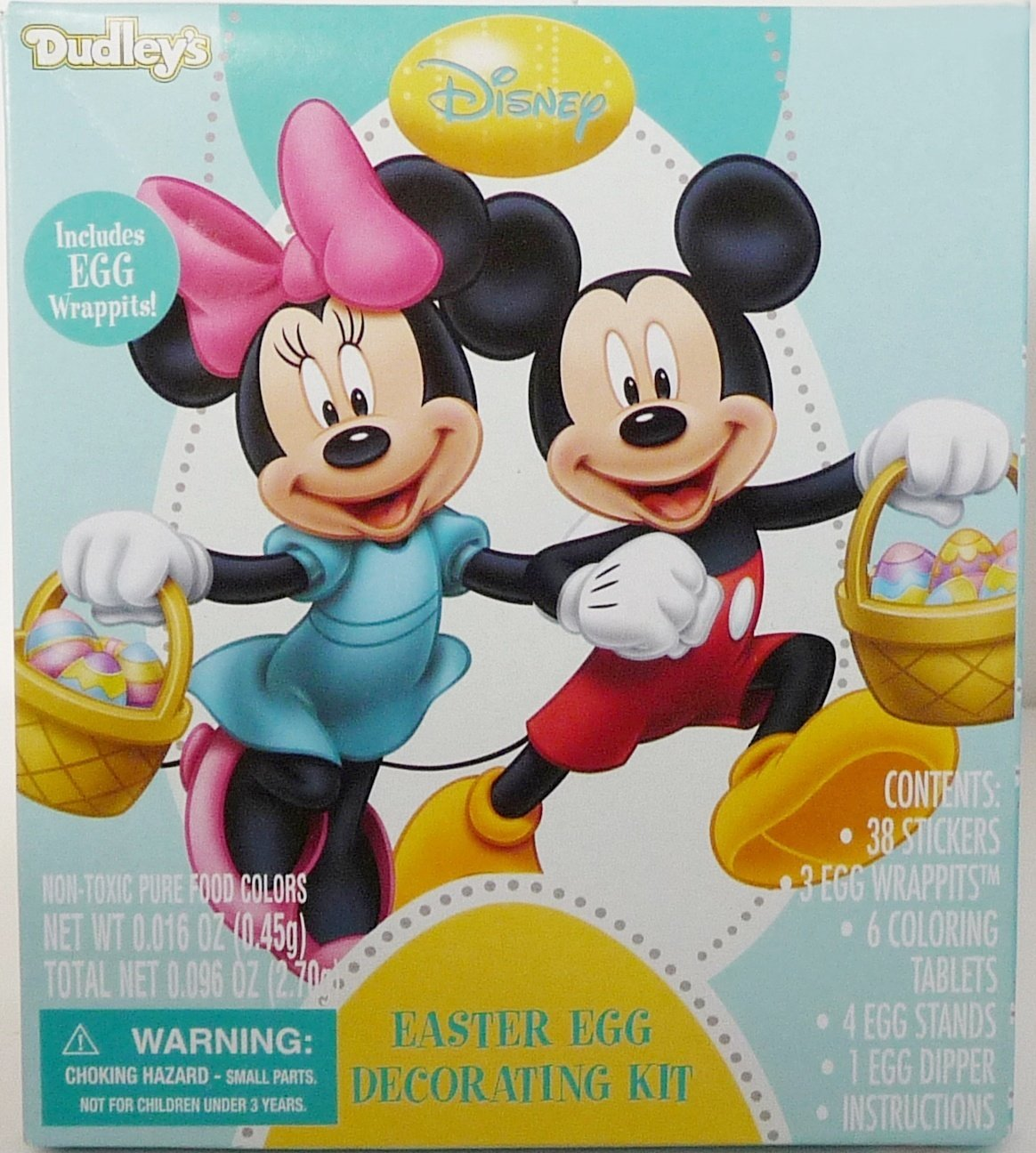 Amazon Dudleys Disney Minnie Mickey Mouse Easter Egg Decorating Kit Toys Games