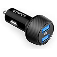 Anker AK-A2228011 Quick Charge 3.0 39W Dual USB Car Charger (Black)
