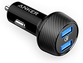 Anker AK-A2228011 Quick Charge 3.0 39W Dual USB Car Charger