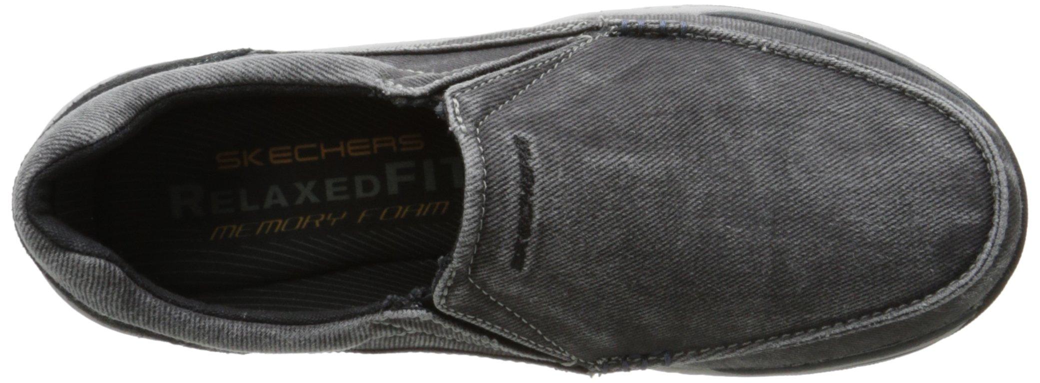 Skechers Men's Expected Avillo Relaxed-Fit Slip-On Loafer,Black,13 M US by Skechers (Image #8)