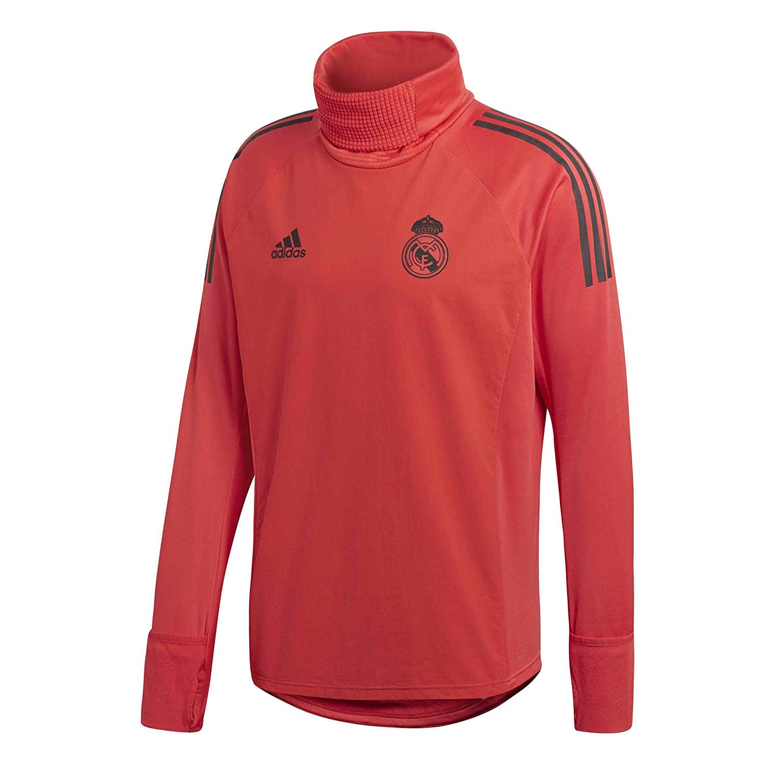 Amazon.com   adidas 2018-2019 Real Madrid UCL Warm Up Top (Red)   Sports    Outdoors b35867d9d