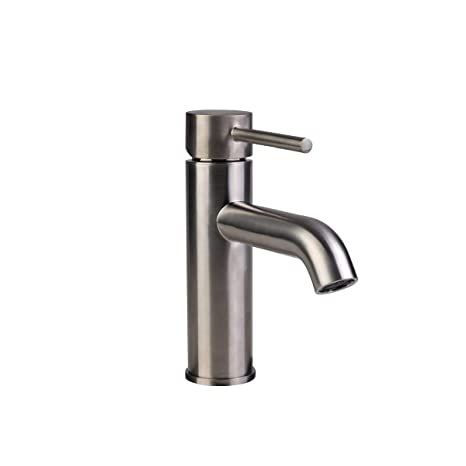 Fontaine Contemporary Single Hole Single Handle High Arc Bathroom
