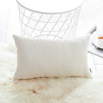 Topfinel juego 1 Fundas cojines sofas de Algodón Lino duradero Almohadas Decorativa de color sólido Para Sala de Estar, sofás, camas, sillas ...