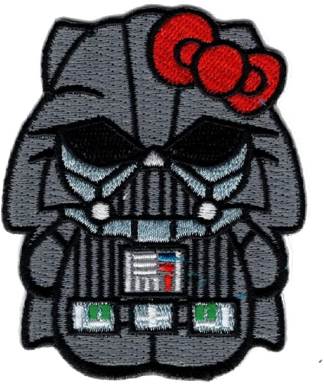 Hello Kitty Storm Trooper Darth Vader Empire Hook Patch MHK1