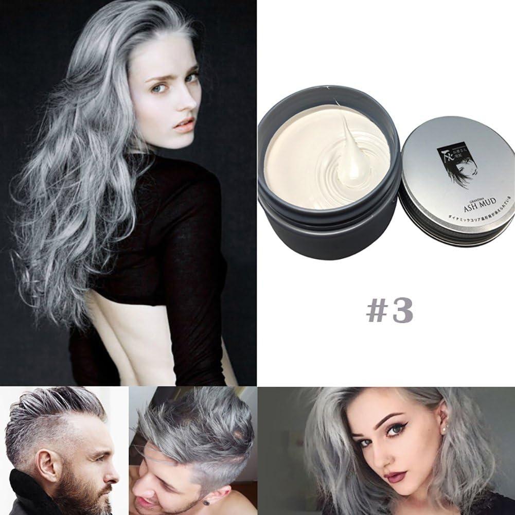 ropalia einmalige pelo Color Cera Tinte Molding Paste – Tinte para el cabello Cera Unisex Style