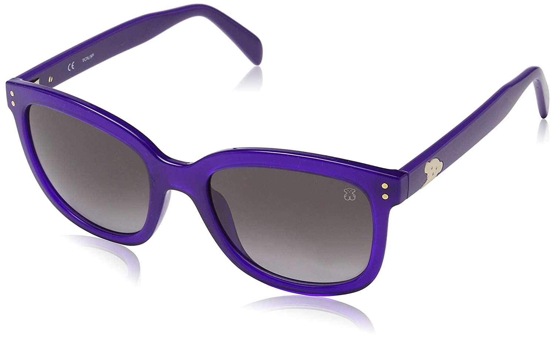 Tous STO831-530916 Gafas de sol, Shiny Purple, 53 para Mujer ...