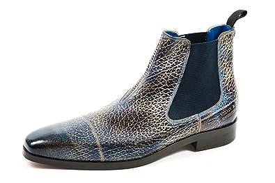 wholesale dealer eaf0c 527d1 Melvin & Hamilton Herren Lewis 12 Chelsea Boots Blau Gr. 41 ...