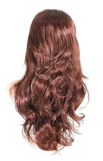 Amazon.com: 24 Inch Curly Half Wig Hair Piece