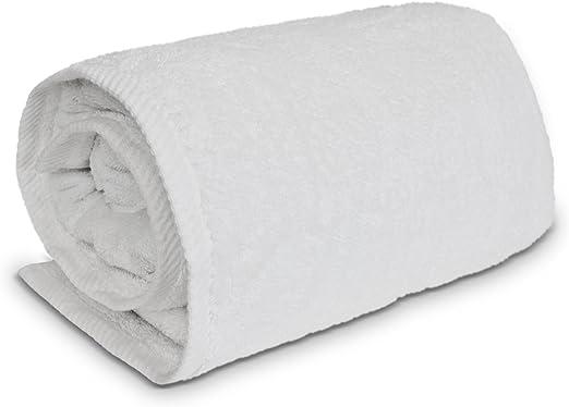 White. Salbakos Luxury 100/% Combed Turkish Cotton Oversized Bath Sheet 40X80
