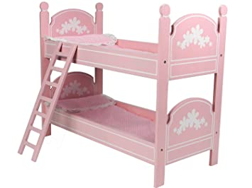 18quot Doll Bunk Bed Perfect For 18 Inch American Girl Rooms More