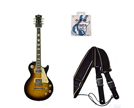 LP de madera de Montreux estilo Les Paul Guitarra eléctrica por Quincy (6-string