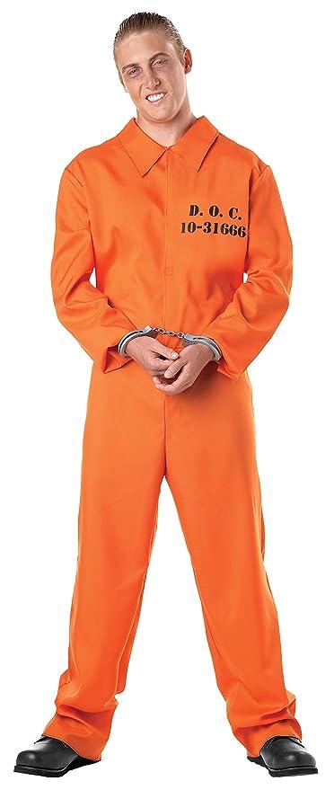 6f0c329fe130 Convict Jumpsuit Costume   Diy Orange Prisoner Costume Craft. Orange ...