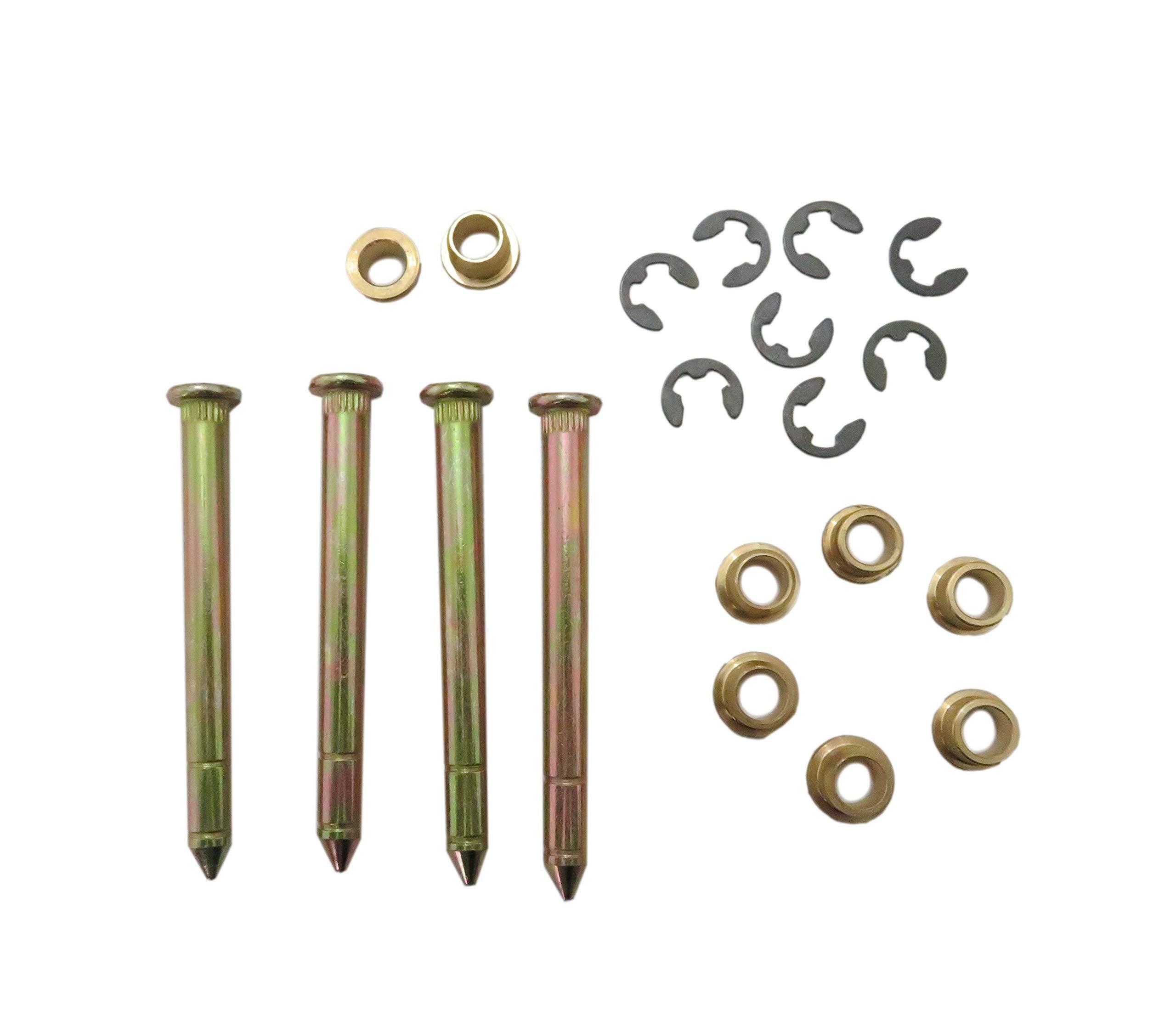 JEM&JULES Door Hinge Pins and Pin Bushing Repair Kit for Ford F150 F250 F350 Bronco SUV by JEM&JULES (Image #2)