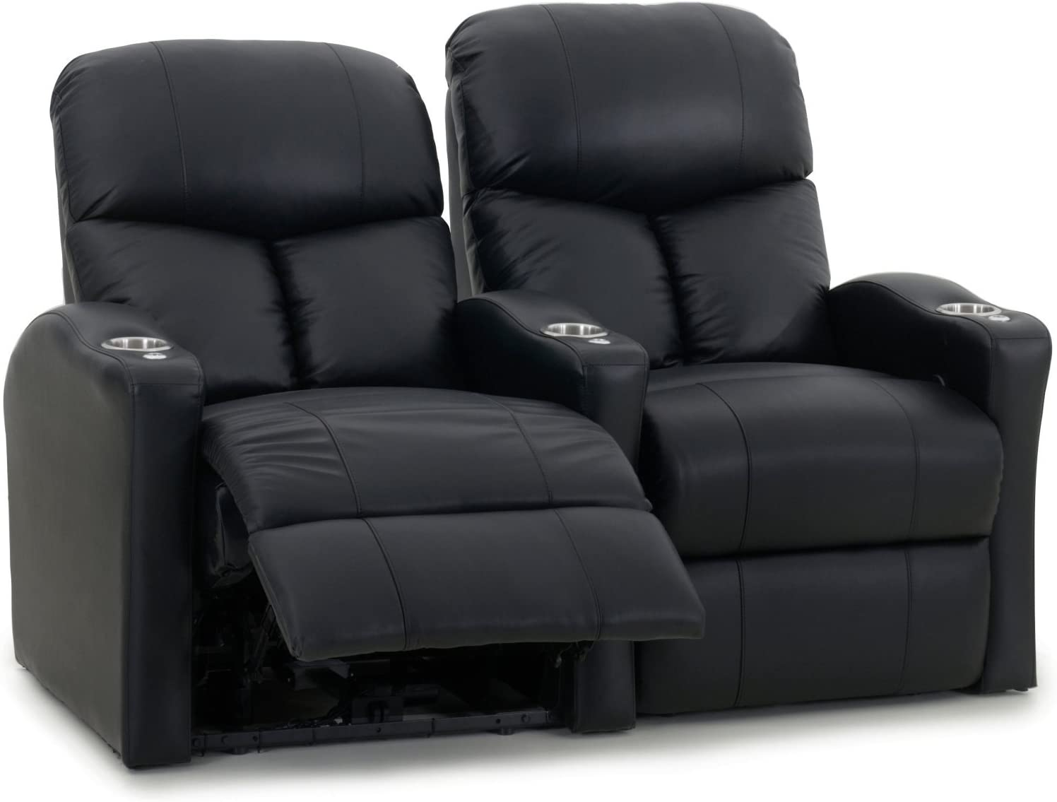 Octane Seating Octane Bolt XS400 Motorized Leather Home Theater Recliner Set (Row of 2)