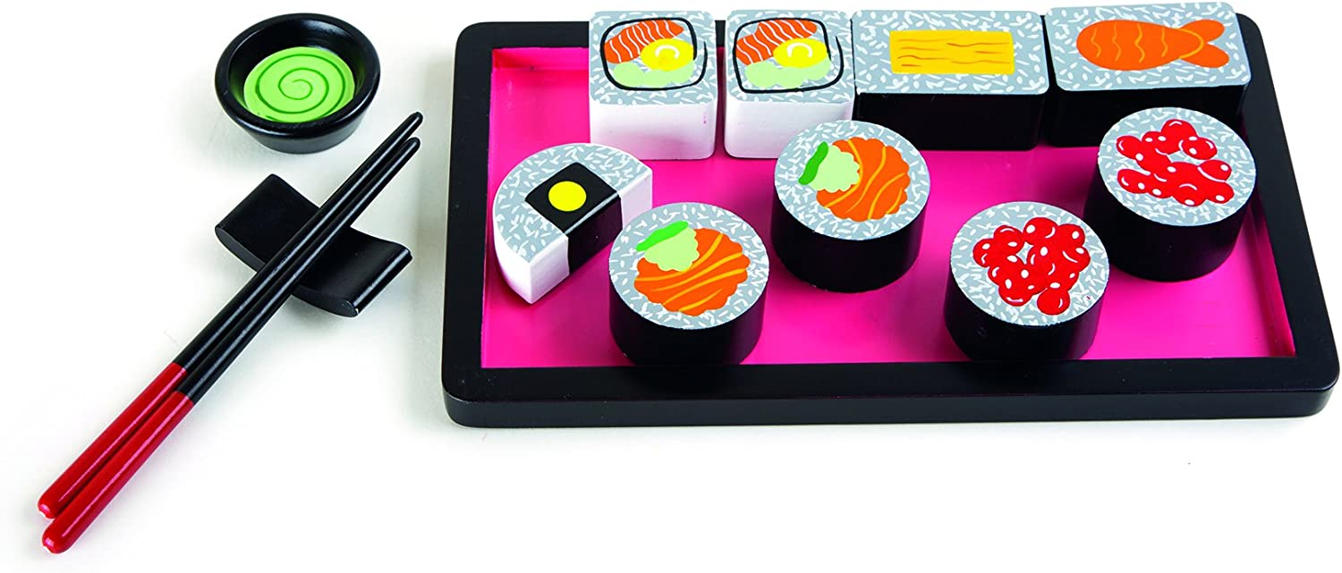 Small Foot 10153 - Set de Sushi de Madera: Amazon.es: Juguetes y ...